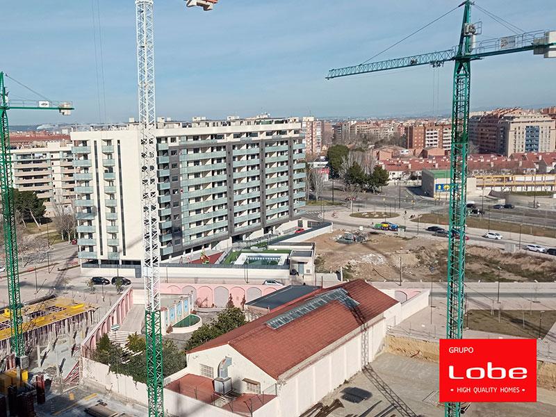 Obras Edificio Flumen Febrero 2021