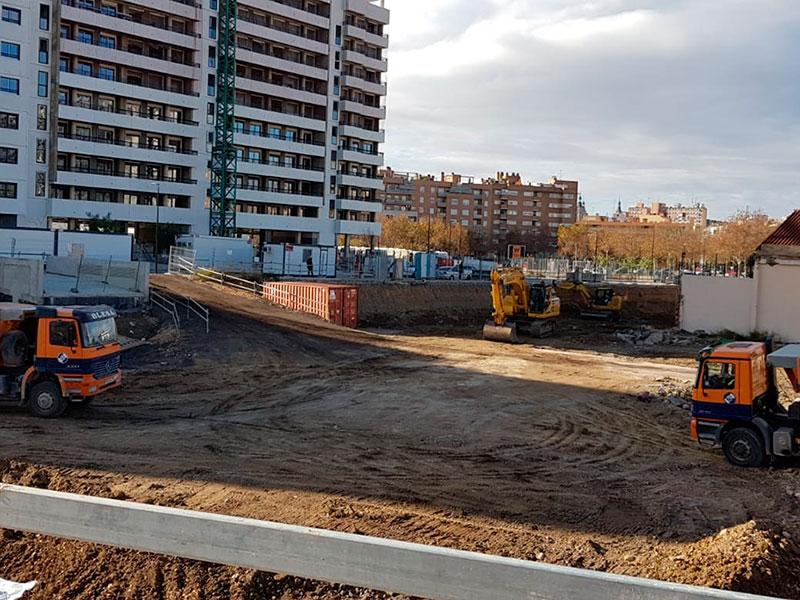 Obras Diciembre 2020 - Edificio Flumen