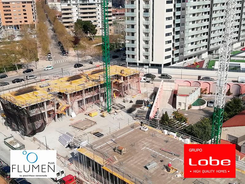 Obras Edificio Flumen Marzo 2021