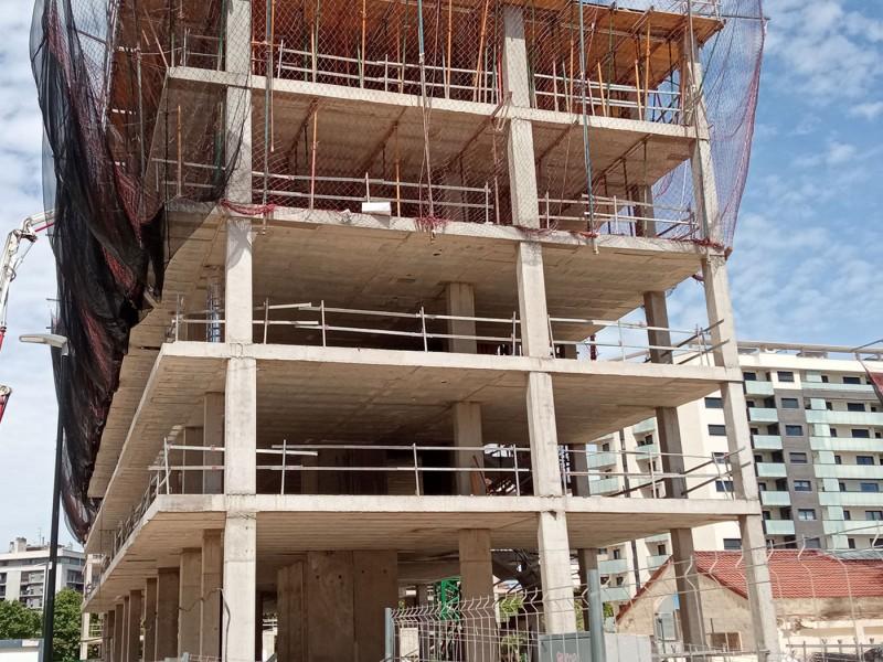 Obras Edificio Flumen Mayo